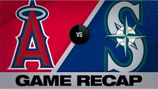 Leake takes perfect game into 9th inning | Angels-Mariners Game Highlights 7/19/19