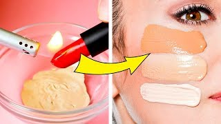 28 CLEVER HACKS FOR MAKEUP || Easy Beauty Hacks And Tutorials