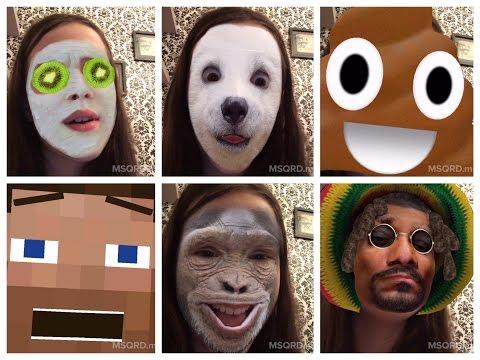 App Masquerade MSQRD - Testando os efeitos - Very Funny - Julia Silva