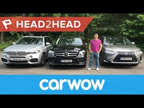 BMW X5 vs Mercedes GLE vs Lexus RX review   Head2Head