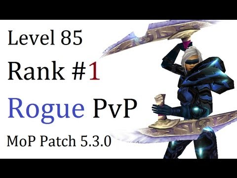 Theyzha 2 - Level 85 Combat Rogue Twink Pvp - Mop Patch 5.3.0 - [1080p Hd] video