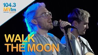 Walk The Moon Performs 'Shut Up And Dance' & 'One Foot'