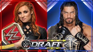 WWE DRAFT 2019 RESULTS (RAW & SMACKDOWN OCT 11)