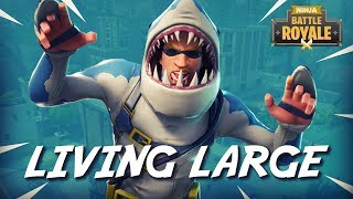 Tilted Towers: Living Large!! - Fortnite Battle Royale Gameplay - Ninja