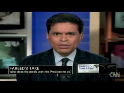 Fareed Zakaria blasts media over BP oil spill and Obama