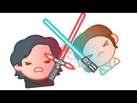 Star Wars The Force Awakens as told by Emoji   Disney