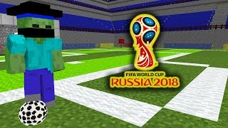 Monster School : FIFA WORLD CUP 2018 - Minecraft Animation