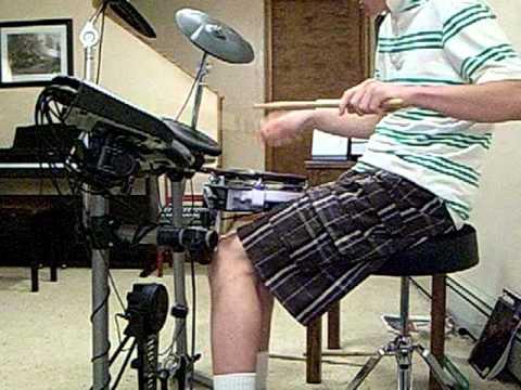 Alex Butterworth On The Drums Part 1