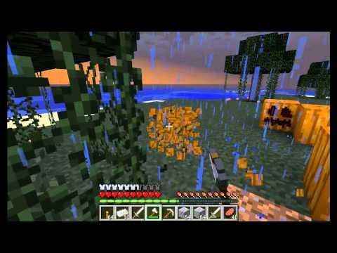 Играем в minecraft #11 (Часть 1) Путешествие и деревня NPC!