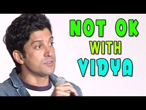 Shaadi Ke Side Effects   Farhan Akhtar wasn't comfortable with Vidya Balan on the sets