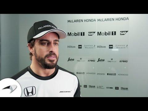 Fernando Alonso: McLaren-Honda 2015