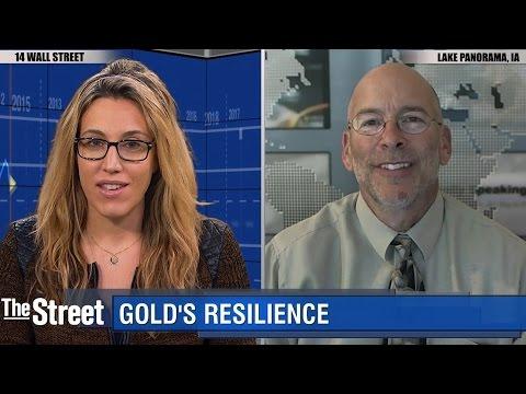 Gold Ends Day Higher Despite Sharp Midday Drop