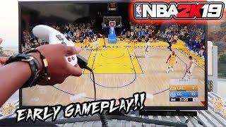 NBA 2K19 GAMEPLAY! Playing GSW WARRIORS vs LA LAKERS!