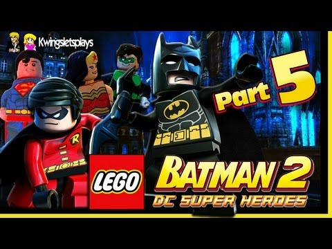 Lego Batman 2 - Walkthrough Wii U Part 5 Ace Chemical Brownies