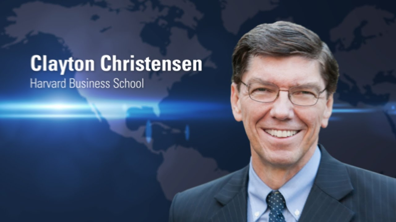 Clayton Christensen 2013 dr Clayton Christensen