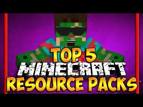 Top 5 Minecraft Resource Packs [ Minecraft 1.8 Texture Packs ] - 2014 (HD)