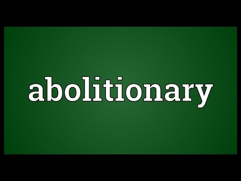 Header of Abolitionary