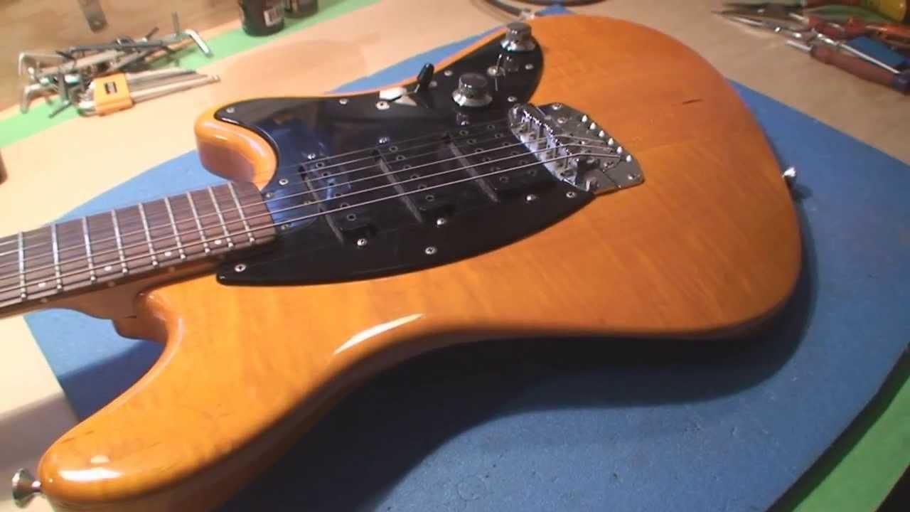 Fury Guitar Made In Canada