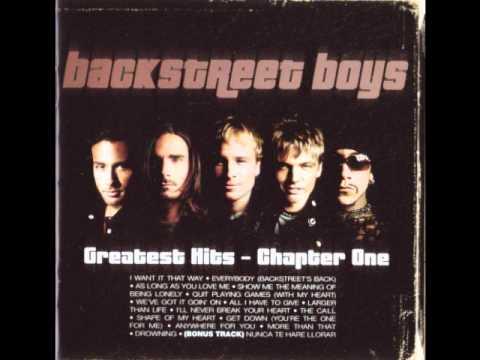 Anywhere For You - Backstreet Boys