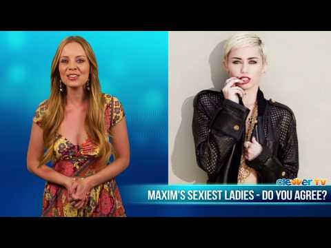 Maxim Hot 100 - Miley Cyrus, Selena Gomez, Jennifer Lawrence