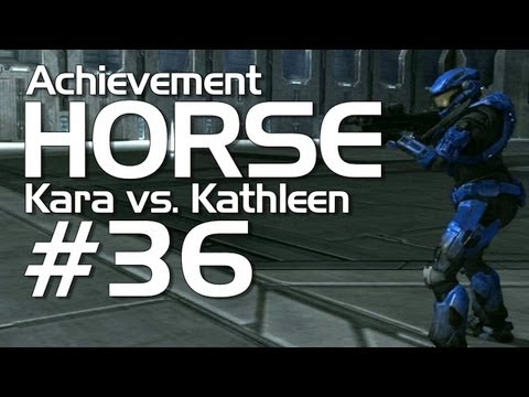 Halo: Reach - Achievement HORSE #36 (Kara vs. Kathleen!)
