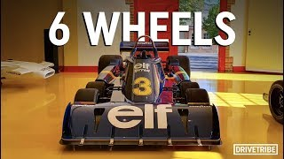 How does a six-wheeled F1 car work? – The Tyrrell P34