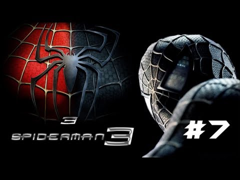 Let's Play Spiderman 3 Part 7- BOMBS AND TRAINS