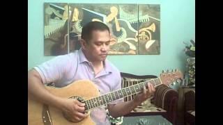 Hanggang Sa Dulo Ng Walang Hanggan (Acoustic Guitar Instrumental Cover by Jazzfabz) w/ Lyrics