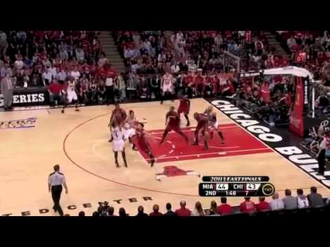 Eastern Conference Finals 2011  Miami Heat vs Chicago Bulls Game 2 Highlights (1-1)