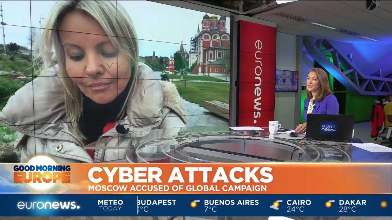 #GME | Cyber Attacks: Moscow accused of global campaign