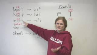 English Pronunciation - E & I