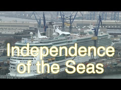 Independence of the Seas - Revitalization in dry dock