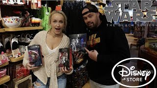 TOY HUNTING FOR NEW DISNEY STORE EXCLUSIVE STAR WARS BLACK SERIES IN ATLANTA!!
