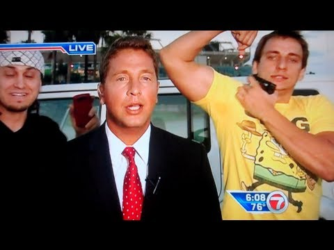 Crashing Live News Prank!