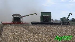 WHEAT HARVEST: CLAAS LEXION 770 TT 2016 - FENDT 9470x - 926 & HAWE | DE TOUR