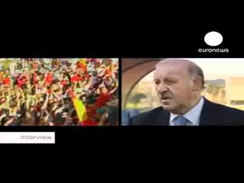 Euronews - Interview Vicente del Bosque - English