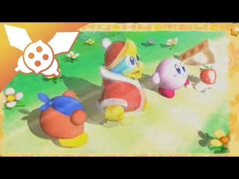 Let's Play Kirby Return to Dreamland Partie 1 - Kirby Rose et Meta Knight en Chocolat