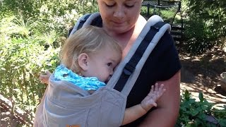 Breastfeeding While Babywearing: Soft Structured Carriers