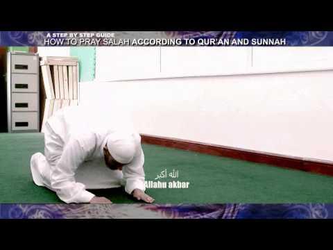 How To Pray Salah (namaz) According To [quran And Sunnah] video