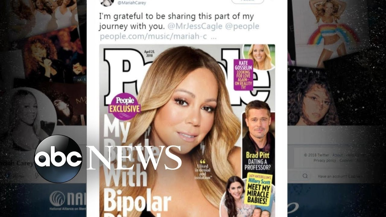 Mariah Carey speaks out about her struggles with bipolar disorder