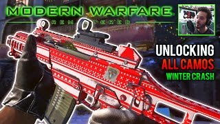 "UNLOCKED ALL CHRISTMAS CAMOS on Winter Crash Gameplay! | ""Gift Wrap"" & ""Ugly Sweater"" in MWR"