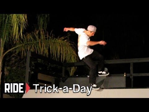 How-To F/S Noseblunt Stall with Tyler Hendley - Trick-a-Day