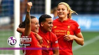Liverpool Ladies 2-0 Reading Women | Goals & Highlights
