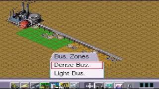 SimCity 2000 intro How to build a city Super Nintendo SNES