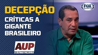 'É A MAIOR DECEPÇÃO DO BRASILEIRÃO': Zinho não poupa críticas a gigante brasileiro