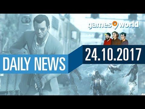 Anthem, GTA 5 Singleplayer-DLC, neue/alte Spiele für Xbox One | Gamesworld Daily News - 24.10.2017