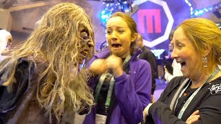 SCARE PRANKS at HALLOWEEN SHOW | 😱FUNNY & SCARY! 😂
