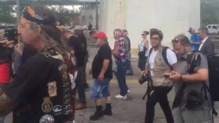 Bikers for Trump join rally on riverfront