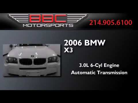 Used 2006 BMW X3 Dallas TX 75207