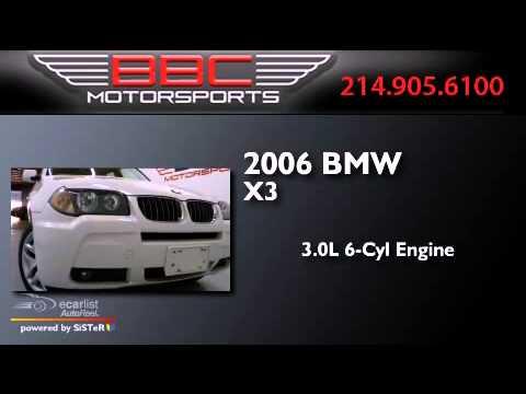 Used 2006 BMW X3 Dallas TX 75207